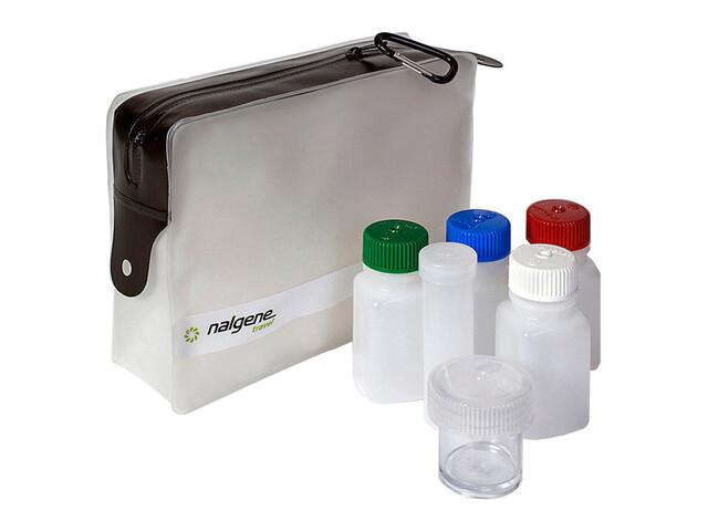 Nalgene Travel Set - Accessoire de rangement - avec sac de rangement transparent